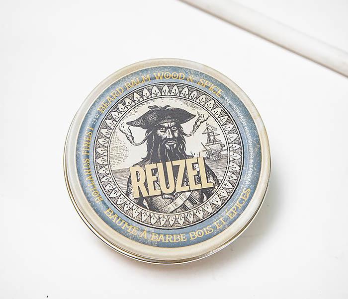 CARE144 Бальзам кондиционер Reuzel для бороды Wood & Spice (35 гр)