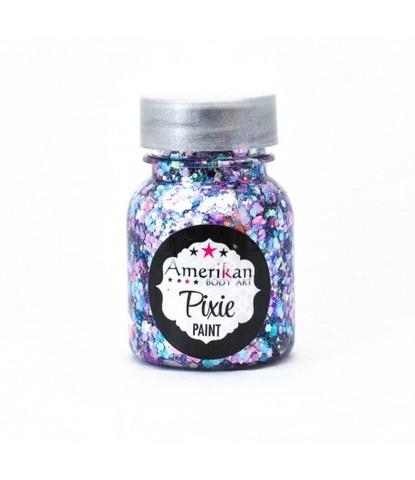 Гель блестки Pixie лиловые Cupcake day 30 мл