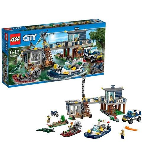 LEGO City: Участок новой Лесной Полиции 60069