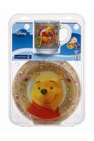 Набор детской посуды Luminarc Disney Winnie Nature - 3 пр.