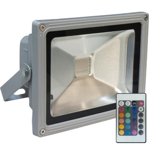 Прожектор светодиодный 30 Вт RGB с пультом управления