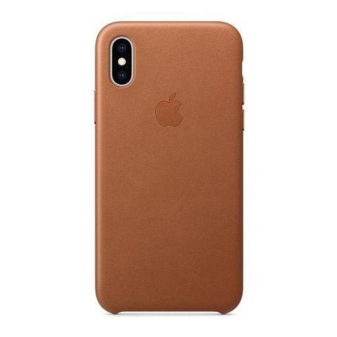 Чехол для iPhone XR - Кожаный (Leather Case)