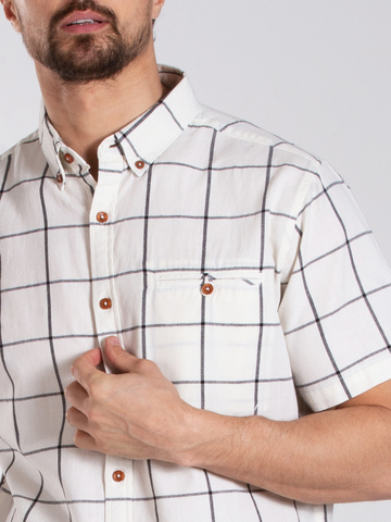 Рубашка к/р муж.  M012-04A-44CR TEXAS
