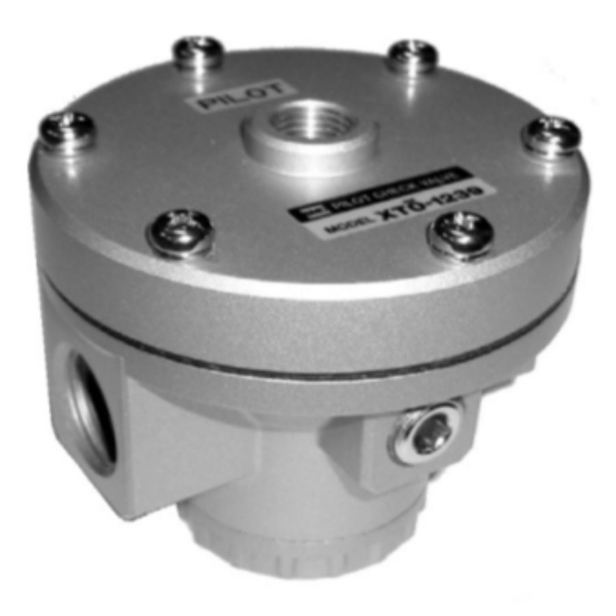 XTO-1239-02  Управляемый обратный клапан, R1/4