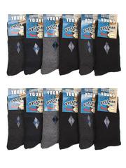 158 носки мужские 42-48 (12шт.) цветные