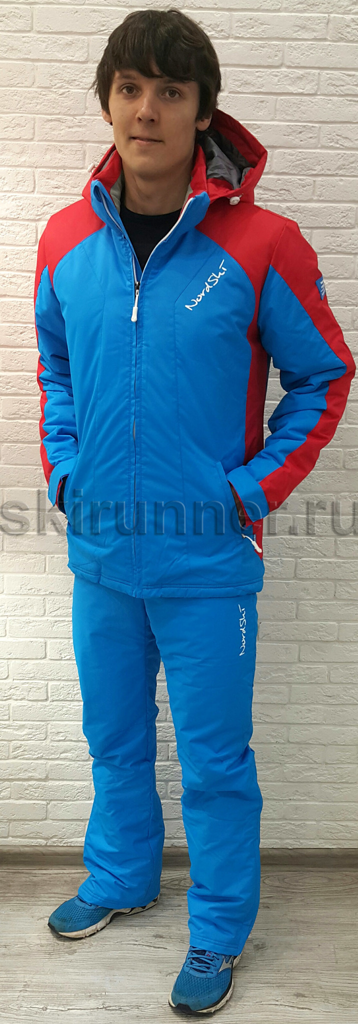 d4a2e51a Мужской Утеплённый прогулочный лыжный костюм Nordski National Blue ...