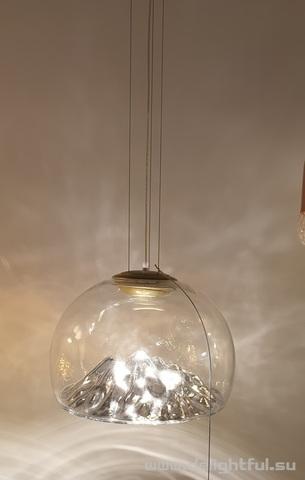 Axo Light Mountain View chrome   replica chandelier