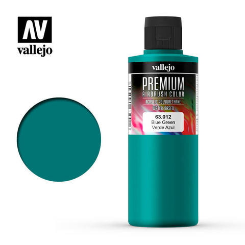 Premium Airbrush Blue Green 200 ml.