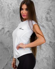Женская футболка Olimp Live & Fight Reglan Core White