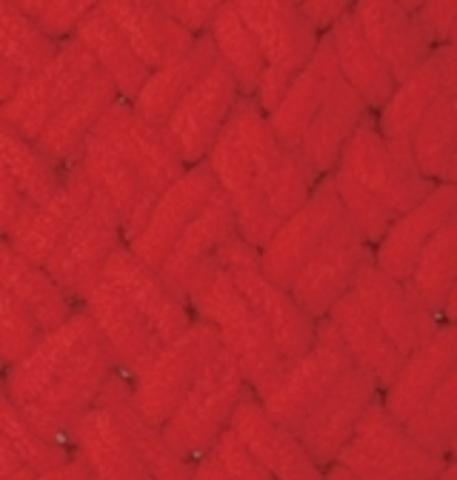 Пряжа Alize Puffy 56 красный