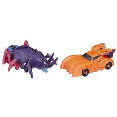 Набор трансформеров Сайберхорн и Биск - Роботы под прикрытием, Hasbro