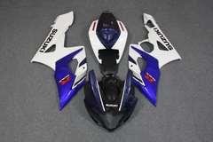 Комплект пластика для мотоцикла Suzuki GSX-R1000 05-06 Сине-Белый