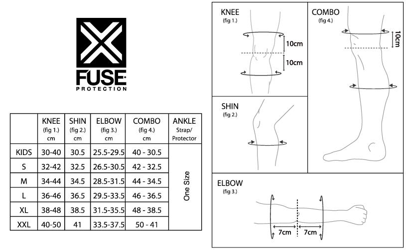 Защита голени FUSE Alpha Combo
