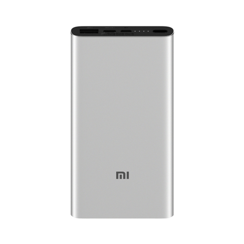 Аккумулятор Xiaomi Mi Power Bank 3 10000mAh Type-C (серебристый)