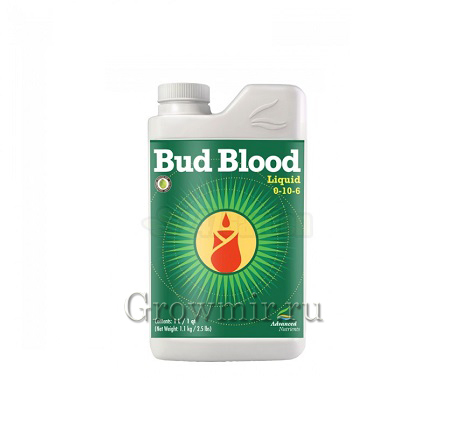 Стимулятор для роста и цветения Bud Blood Liquid  (0.5л, 1л)