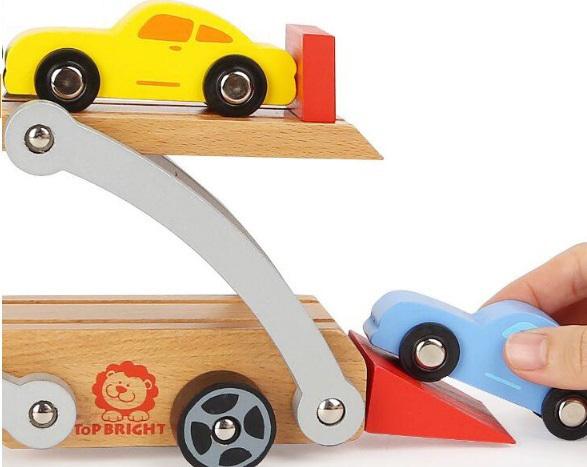 Автовоз деревянный
