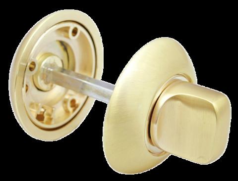 Фурнитура - Завёртка  Morelli MH-WC SG/GP, цвет матовое золото/золото ЦАМ - (сплав, содержащий цинк, алюминий и медь) + многослойное гальваническое покрытие