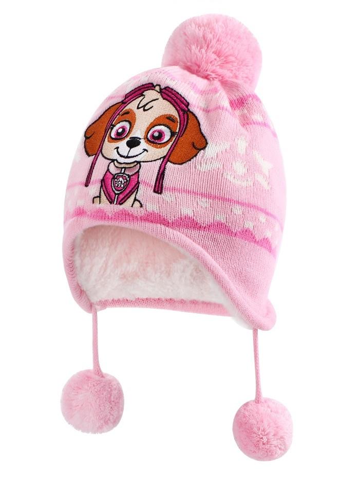Щенки шапка детская