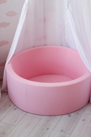 Сухой бассейн Anlipool  высота 40см, без шаров, цвет розовый