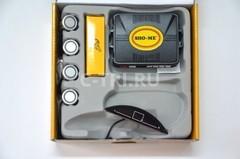 Парковочный радар Sho-me Y-2630 N04 Silver (LED сенсор, цв. дисплей) комп.