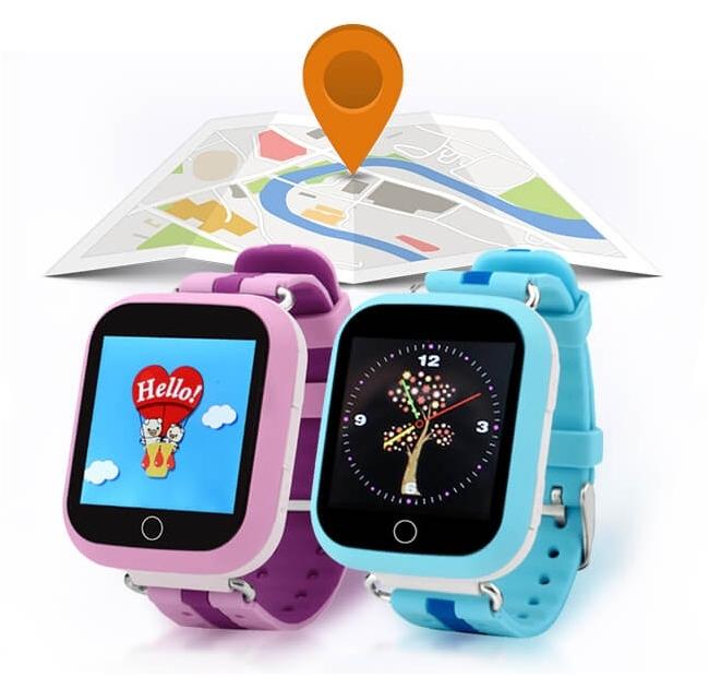 Детские Smart часы Q750 c GPS трекером и Wi-Fi