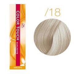 Wella Color Touch Sunlights  /18 (Пепельно-жемчужный) - Мягкое тонирование с осветлением