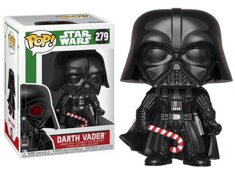 Darth Vader Holiday Star Wars Funko Pop! Vinyl Figure || Новогодний Дарт Вейдер