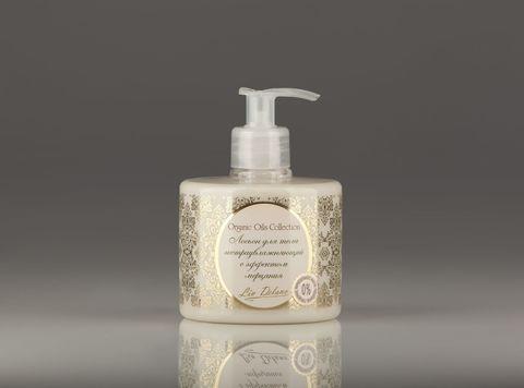 Liv delano Organic Oils Collection Лосьон для тела экстраувлажняющий с эффектом мерцания 300г