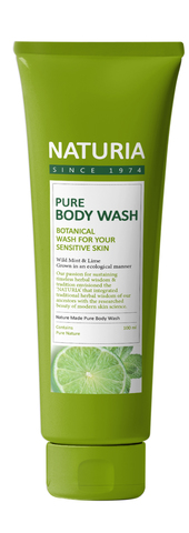 Гель для душа Pure Body Wash (Wild Mint & Lime) от Naturia