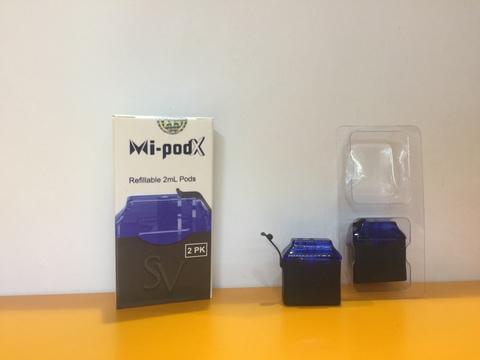 Картридж X-pod ceramic для Mi/Wi-pod 1.8мл 2шт
