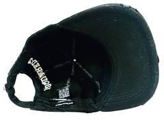 Стильные бейсболки для мужчин Dsquared2 Icon 03-6794-9931-Black.