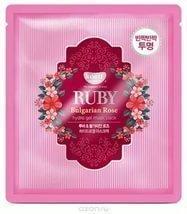 KOELF Маска д/лица гидрогел. с экстрактом болгарской розы RUBY & BULGARIAN ROSE, 30 гр