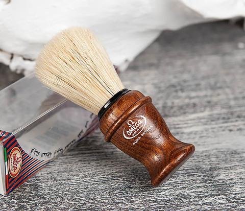 Помазок из щетины кабана с деревянной рукояткой