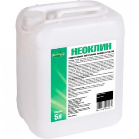 Профессиональная химия Неоклин, 5л, д/удаления жировых и белковыхзагрызн.