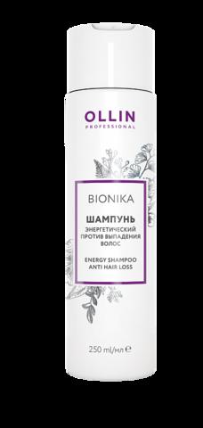 OLLIN BioNika Шампунь энергетический против выпадения волос 250 мл