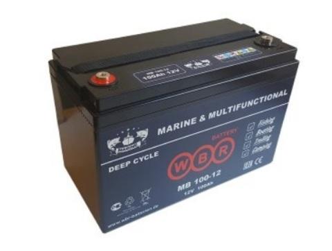 Аккумулятор глубокого разряда MB 100-12