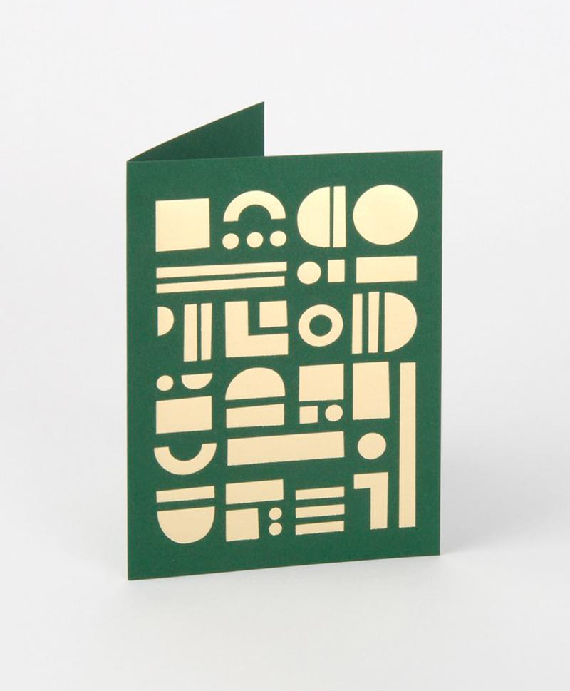 Открытка Artefact Card Brass & Forest