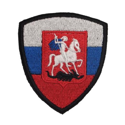 Герб Москвы на флаге