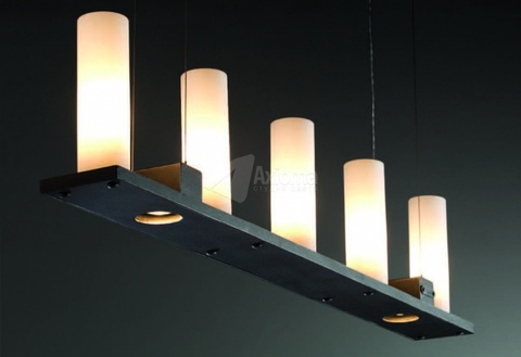 vintage chandelier RUFFLES 5 by FunkyVintage