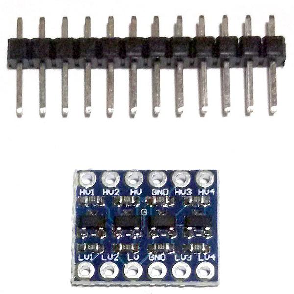 Преобразователь логических уровней 3.3В-5В (4 канала)