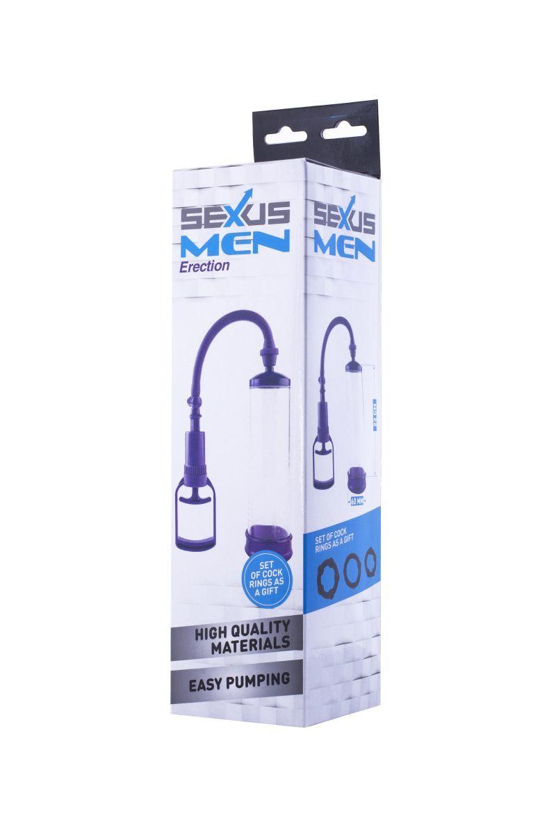Вакуумные помпы: Фиолетовая вакуумная помпа с прозрачной колбой