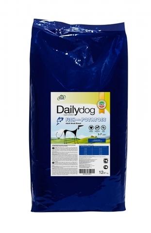 Сухой корм DailyDog Adult Small Breed Fish and Potatoes для взрослых собак мелких и миниатюрных пород с рыбой и картофелем 12 кг