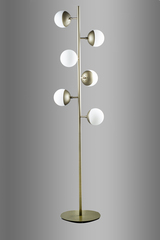 торшер Spiral Globe Floor Lamp