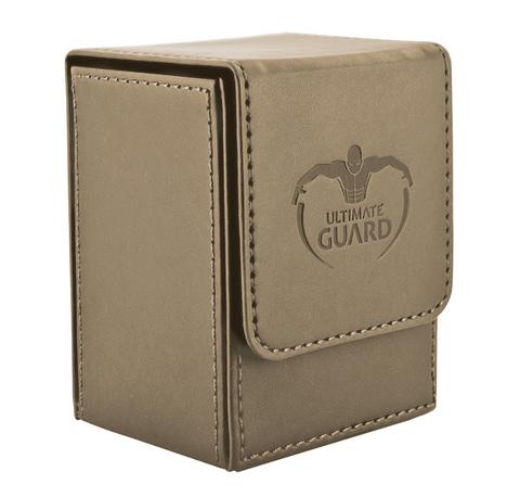 Ultimate Guard - Песочная кожаная коробочка на 100+ карт для Коммандера