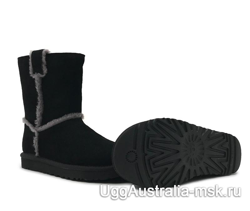 UGG Classic Short Top Wool Black
