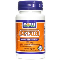 NOW 7-KETO 100MG (30 VCAPS)