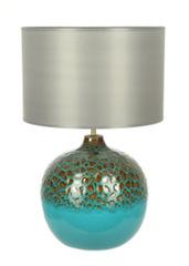 Элитная лампа настольная Lava бирюза от Sporvil