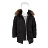 Куртка Аляска Зимняя - Altitude Parka RF натур. мех (черная - black)