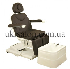 Педикюрно-косметологическое кресло     с 3-мя электролифтами ZD-848-3A