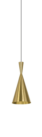 replica Tall pendant lamp (gold)
